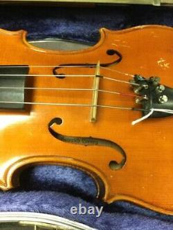1965 Vintage Antique Heinrich Lorenz Violin 4/4 Made In Germany (lam018210)