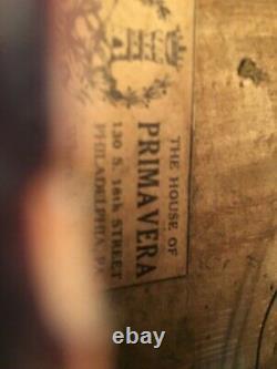 ANTIQUE VINTAGE VIOLIN House of Primavera Philadelphia Pa 1800s With Case