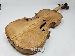 A Fine Antique Lionhead Violin Very Rare Lion Head