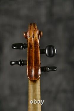 An old Antique Vintage violin! Labeled Carlo Guadagnini 1814. Listen The Sample