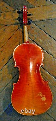Ancien et beau VIOLON entier 4/4 antique old violin 4/4 vintage