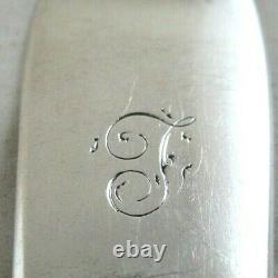 Antique Solid Silver 6 SCOTTISH FIDDLE DESSERT FORKS Hallmarked-1870 & 1877