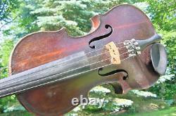 Antique Stradivarius Violin 100 More In Our Ebay Store Old Vintage Fiddle C1900