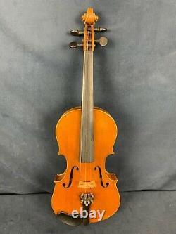 Antique/Vintage Nicolaus Amatus Labeled 4/4 Violin. Good Condition