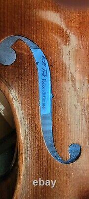 Antique, Vintage, Old German Violin labeled Antonio Stradivarius #8