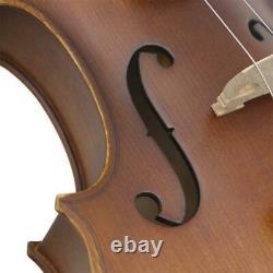 Astonvilla Antique Old Volin 4/4 Handmade Vintage Varnish Fiddle Spruce Panel