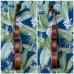 E Martin Sachsen Old Vintage Violin 4/4 Antique
