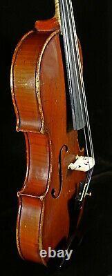 Excellent tone! OLD Antique VIOLIN, LISTEN TO the VIDEO! Gennaro De LUCCIA 1929