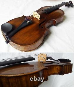 FINE OLD 19th CENTURY VIOLIN -see video ANTIQUE MASTER 328