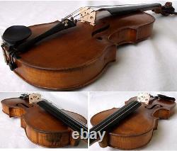 FINE OLD 19th Centrury VIOLIN -see video ANTIQUE Violino 420