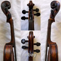 FINE OLD 19th Centrury VIOLIN -see video ANTIQUE Violino 587