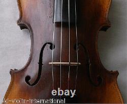 FINE OLD FRENCH VIOLIN THOUVENEL VIDEO ANTIQUE violino 854