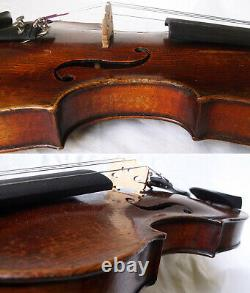 FINE OLD GERMAN 19th Ctry MASTER VIOLIN VIDEO ANTIQUE RARE 314