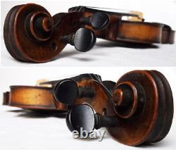 FINE OLD GERMAN Franz Hell VIOLIN VIDEO ANTIQUE violino 182