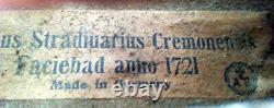 FINE OLD GERMAN STRADIUARIUS VIOLIN -video- ANTIQUE MASTER 372