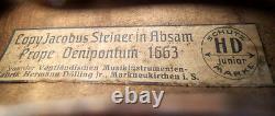 FINE OLD GERMAN VIOLIN H DOELLING jr see VIDEO ANTIQUE 341