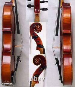 Fine Old French Violin Video Antique Rare Violino Violon 166
