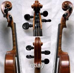Fine Old German 3/4 Violin Around 1930 Video Rare Antique 309