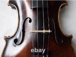 Fine Old Lionhead Violin Video Antique Rare Lion Head 307