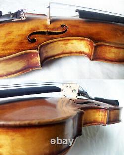 Fine Old Lionhead Violin Video Antique Rare Lion Head 334