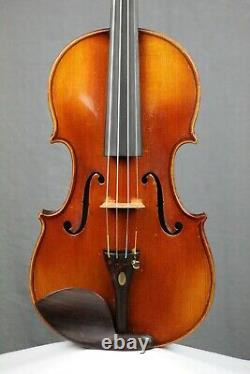 French Violin, c. 1910 (ready-to-play) Antique, vintage, old violin
