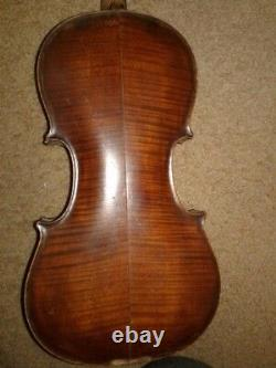 Full Size Vintage Very Antique Fine Old Violin