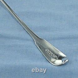 Good Antique Sterling Silver Fiddle Back Basting/stuffing Spoon London 1851