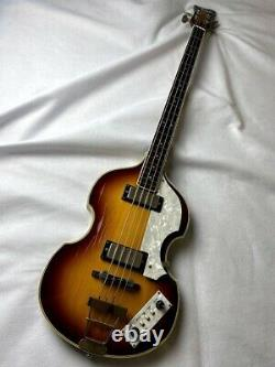 Greco VB500 Violin Bass'84 Vintage MIJ Electric Bass Guitar Made in Japan
