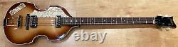 Hofner Vintage 62 500/1 Violin Lefty Beatle Bass (Sunburst) SNV1023H008