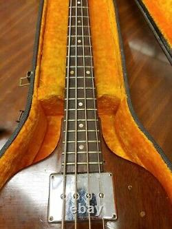I239 Vintage Gibson EB-1 Violin Bass Guitar with Case serial number 810964