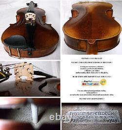 INTERESTING OLD 4/4 VIOLIN see video ANTIQUE Violino 091