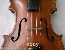 INTERESTING OLD 4/4 VIOLIN see video ANTIQUE fine Violino 862