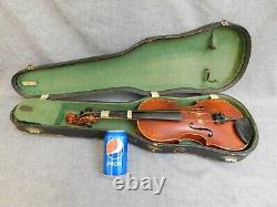 Jacobus Stainer In Absam Violin +hardcase Kronotone Tailpiece Antique Vintage