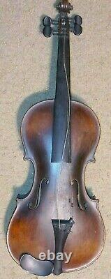 Jacobus Stainer Label Inside Vintage Antique Old Violin Full Size