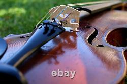 LISTEN TO THE VIDEO! 19th century Old Full Sound Bohemian violin Emanuel Tuma