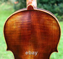 LISTEN VIDEO! OLD late19th century Antique Germany Violin, Full and Deep Sound