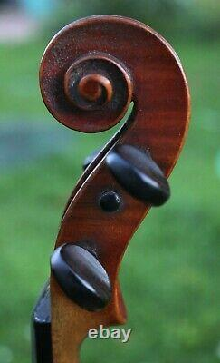 LISTEN to the VIDEO! 19th Century Old Beautiful Conservatory Germany Violin