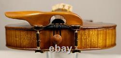 LISTEN to the VIDEO! Old Better Class Conservatory Germany Violin c. 1920