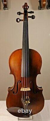 Listen to the VIDEO! Antique 150+ Old Bohemian violin after Gasparo da Salo