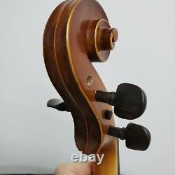 Nice Antique Vintage Old German Kersting Violin with Case & Bow
