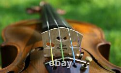 OLD ANTIQUE Germany 19th century VIOLIN -LISTEN to the VIDEO! STAINER model