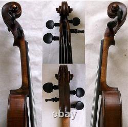 OLD AUTHENTIC 1800s HOPF VIOLIN VIDEO ANTIQUE Violino 468