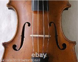OLD AUTHENTIC 1800s HOPF VIOLIN VIDEO ANTIQUE Violino 816