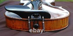 OLD Antique GERMAN VIOLIN-LISTEN to VIDEO! Stradivarius model, Circa 1900