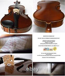 OLD CZECH VIOLIN CREMONA LUBY 1967 VIDEO antique violino 176