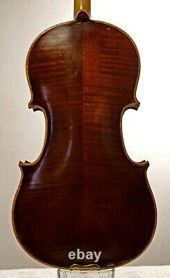 OLD GERMANY VIOLIN- Heinrich Roth workshop1923, LISTEN to the VIDEO