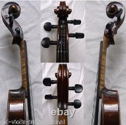 OLD GERMAN ALBAN OTTO SCHMIDT VIOLIN -VIDEO ANTIQUE violino 778
