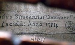 OLD GERMAN STRADIUARIUS VIOLIN video ANTIQUE MASTER VIOLINO 933