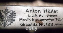 OLD GERMAN VIOLIN Anton Hueller VIDEO ANTIQUE MASTER 440