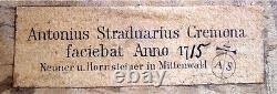 OLD GERMAN VIOLIN NEUNER & HORNSTEINER video ANTIQUE MASTER 803